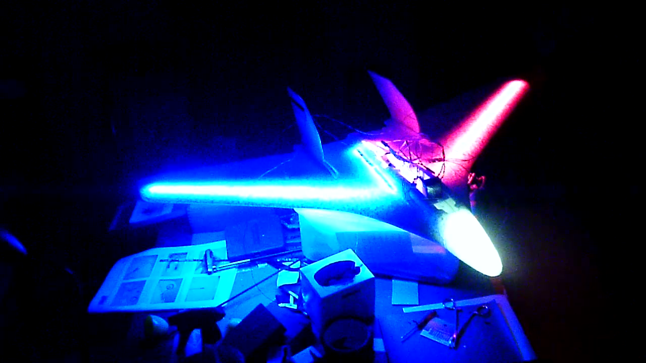 White Lightning Lightweight Night Flying Stryker