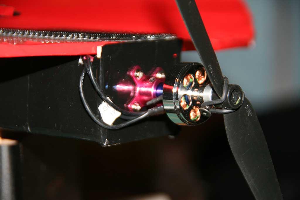 motor-mounted