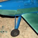 Landing gear in place