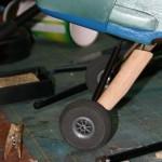 Balsa fairings mounted