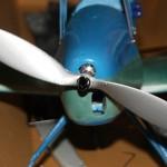 'Aluminum' propeller