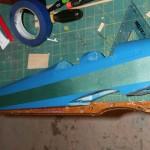 Two-tone fuselage