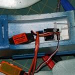 Internal servos mounted