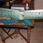 Control surfaces mounted