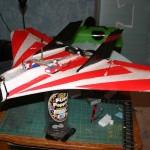 FPV gear side view