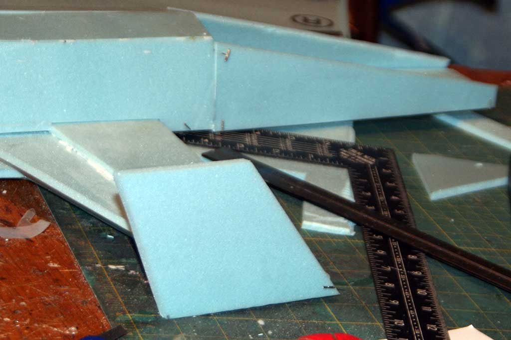 Pinning a winglet in place