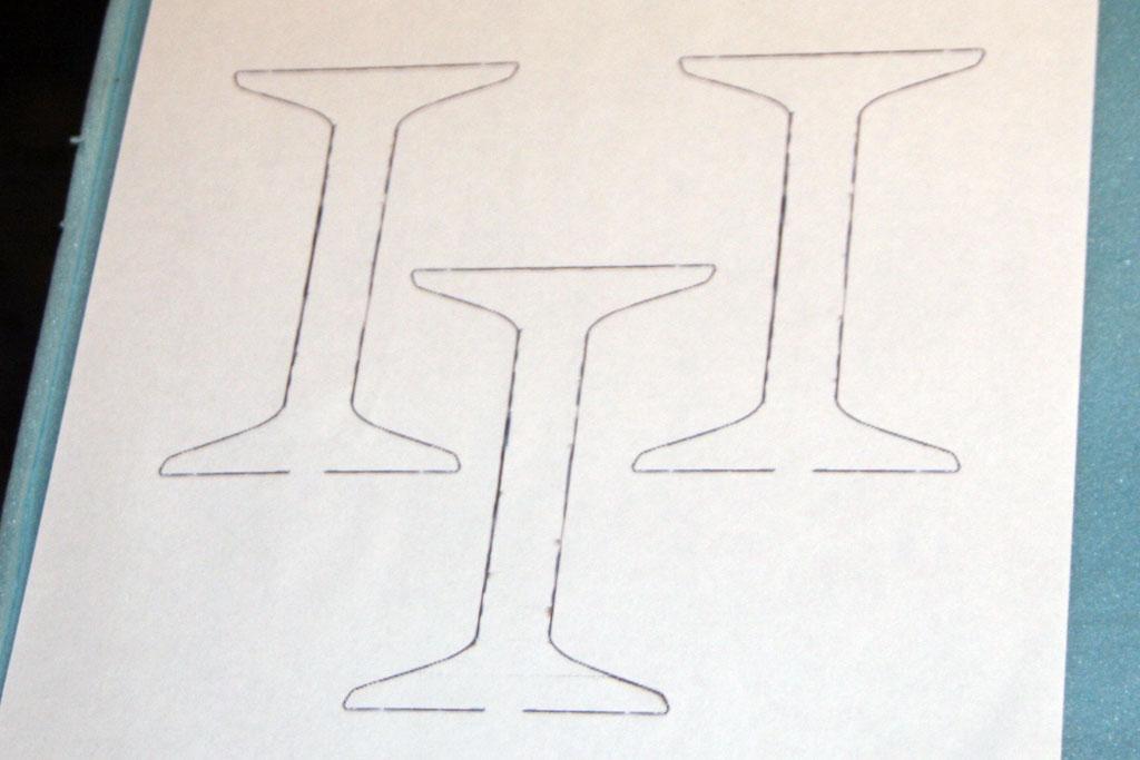 interplane-strut-patterns